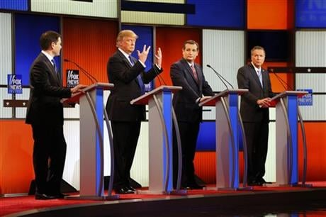Trump Brags About the Size of His Penis at the GOP Debate