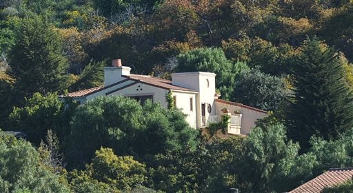 This Thursday, March 24, 2016 photo shows a home on Greenhill Way in unincorporated county territory between Santa Barbara and Goleta, Calif.