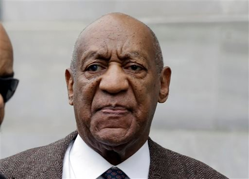 FILE - In this Feb. 3, 2016 file photo, actor and comedian Bill Cosby arrives for a court appearance in Norristown, Pa.
