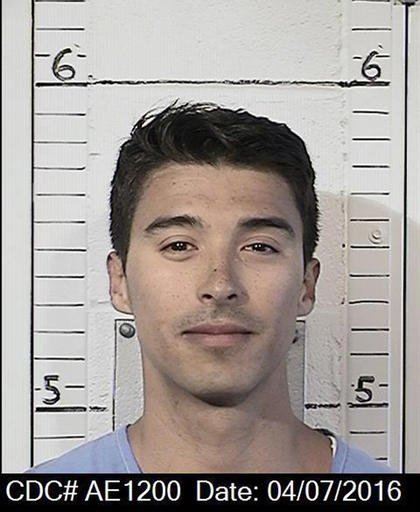 This April 7, 2016 photo provided by the California Department of Corrections and Rehabilitation shows Esteban Nunez.