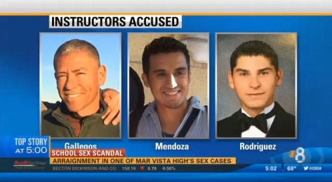 Three instructors accused of sex acts with Mar Vista High School students