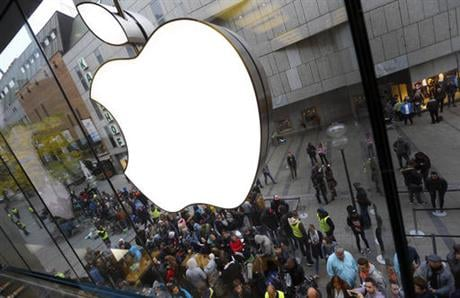 That's putting more pressure on the world's most valuable public company to come up with its next big product. (AP Photo/Matthias Schrader, File)