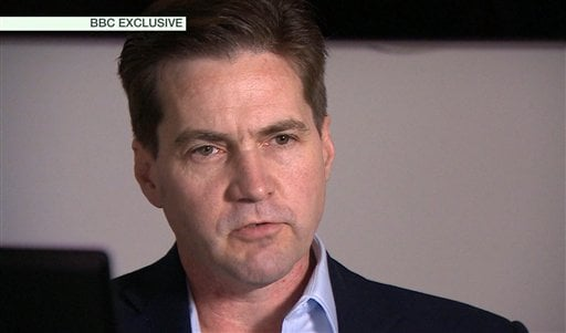 This framegrab made available by the BBC on Monday May 2, 2016 shows creator of the Bitcoin, Craig Wright speaking in London. Australian Craig Wright, long rumored to be associated with the digital currency Bitcoin, has publicly identified himself as its