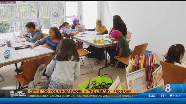 San diego library homework help