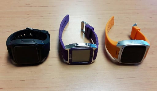 In this Saturday May 7, 2016 photo by Asst.Prof.Pakarat Jumpanoi, shows three smartwatches used by students caught cheating in exams for admission to medical and dental faculties in Bangkok, Thailand.