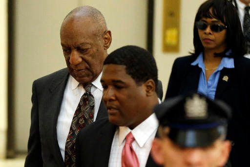 Bill Cosby arrives at the Montgomery County Courthouse for a preliminary hearing, Tuesday, May 24, 2016, in Norristown, Pa.