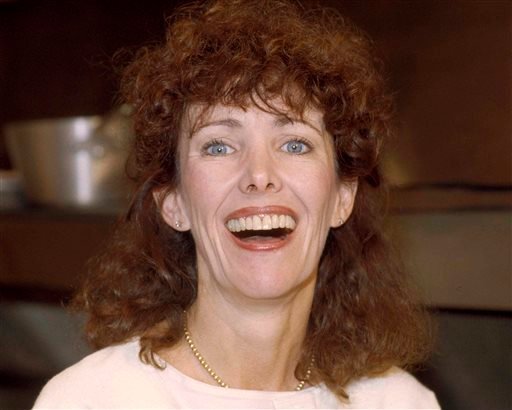 """This 1984 file photo shows actress Beth Howland. Howland, who was best known for her role as a ditzy waitress Vera Louise Gorman on the 1970s and '80s CBS sitcom """"Alice"""" died Dec. 31, 2016 in Santa Monica, Calif."""