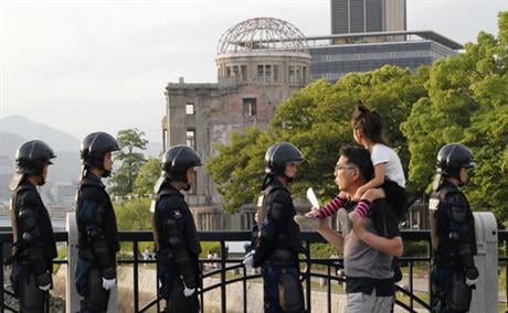 U.S. President Barack Obama is to visit Hiroshima on Friday, May 27 after the Group of Seven summit in central Japan, becoming the first serving American president to do so. (AP Photo/Shuji Kajiyama)