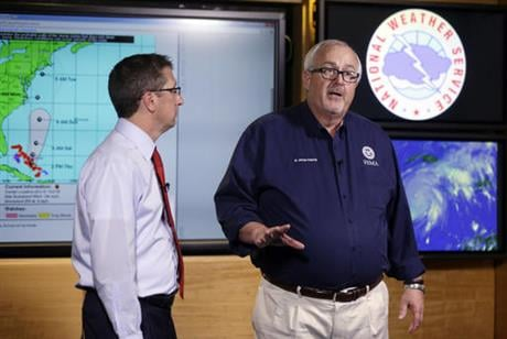 The U.S. government is set to release its forecast for how many hurricanes and tropical storms are expected to form over Atlantic and Caribbean waters in the next six months. It's an annual reminder from the National Oceanic and Atmospheric Administration