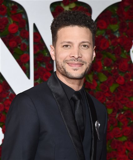 Justin Guarini arrives at the Tony Awards at the Beacon Theatre on Sunday, June 12, 2016, in New York. (Photo by Charles Sykes/Invision/AP)