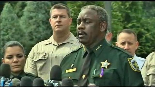 Orange County Sheriff Jerry Demings speaking at a press conference Wednesday, June 15, 2016.