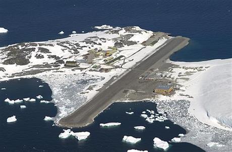 (British Antarctic Survey via AP)