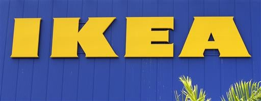 This June 3, 2015, file photo, shows an IKEA store in Miami. Ikea is recalling 29 million chests and dressers after six children were killed when the furniture toppled over and fell on them.