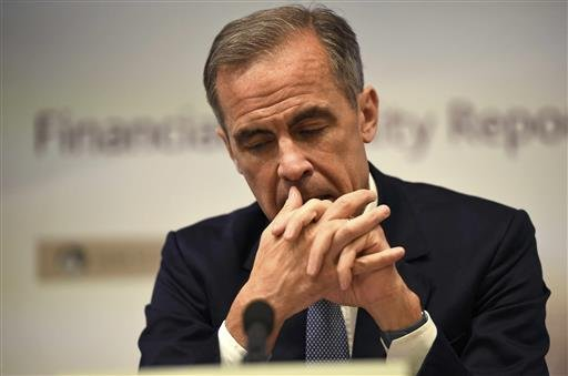 Bank of England governor Mark Carney speaks during a news conference at the Bank of England in London, Tuesday, July 5, 2016.