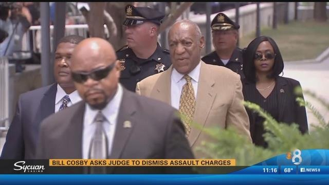 Cosby arrives at courthouse to appeal ruling