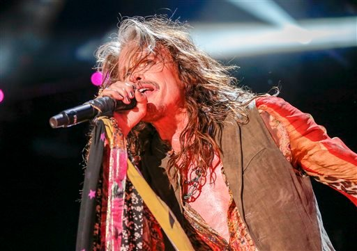 In this June 11, 2016 file photo, Steven Tyler performs at the CMA Music Festival at Nissan Stadium in Nashville, Tenn.