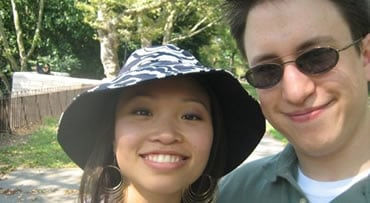 Annie is seen here with fiancé Jonathan Widawsky in a Facebook photo. (Photo:  Facebook)