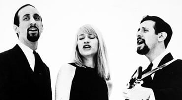 FILE - This 1965 file photo shows, from left: Peter Yarrow, Mary Travers and Paul Stookey. Travers, one-third of the popular 1960s folk trio Peter, Paul and Mary died Wednesday, Sept. 16, 2009 in a Connecticut hospital after battling leukemia for several