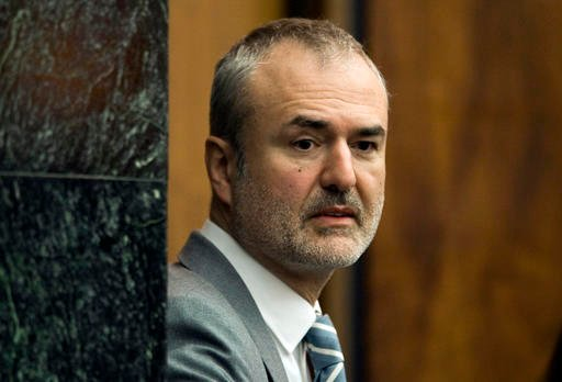 In this Wednesday, March 16, 2016, file photo, Gawker Media founder Nick Denton arrives in a courtroom in St. Petersburg, Fla.