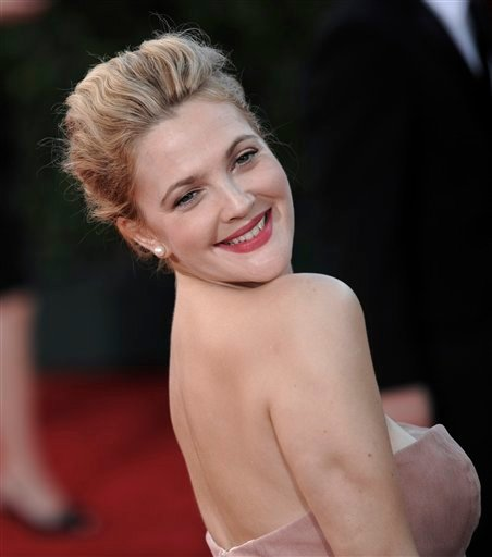 Drew Barrymore arrives at the 61st Primetime Emmy Awards on Sunday, Sept. 20, 2009, in Los Angeles. (AP Photo/Chris Pizzello)
