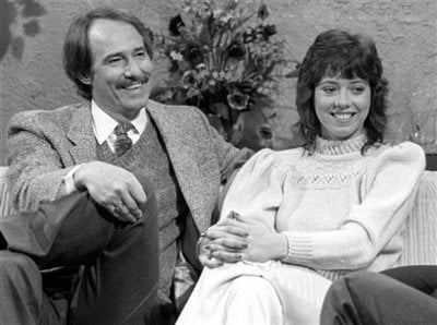 """FILE- This Feb. 26, 2008 file photo shows Mackenzie Phillips, of the 1970's sitcom """"One Day at a Time, """" appearing on the the NBC """"Today"""" television program in New York. Phillips says she had a long-term sexual relationship with her father, John Phillips,"""