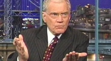 This image rendered form video shows David Letterman as he tells his story during a taping of his late-night show Thursday Oct. 1, 2009 that he had sexual relationships with female employees and that someone tried to extort $2 million from him over the af