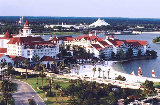 The Grand Floridian Resort & Spa at Walt Disney World, Florida.