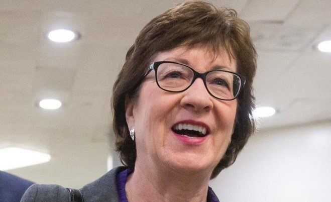 Picture from Sen. Susan Collins Twitter