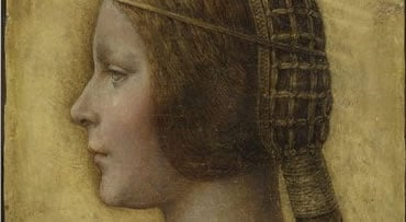 This undated photo provided Wednesday Oct. 14, 2009 by Lumiere Technology in Paris shows a painting that art experts believe they have identified a new Leonardo da Vinci. Peter Paul Biro, a Montreal-based forensic art expert, said Tuesday that a fingerpri