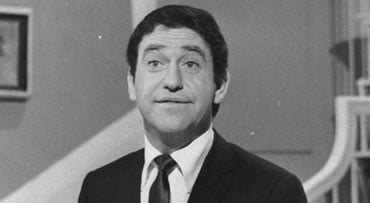 """FILE - In this Nov. 17, 1966 file photo, Soupy Sales rehearses for his Broadway debut in """"Come Live With Me"""", in New York. Soupy Sales, the rubber-faced comedian whose anything-for-a-chuckle career was built on 20,000 pies to the face and 5,000 live TV ap"""
