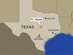 Military officials confirmed that three U.S. soldiers were involved in the shootings at Fort Hood in Texas. (CBS/AP)