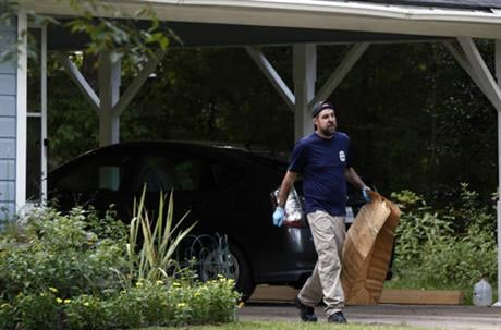 The clinic office manager and a Durant police officer discovered their bodies inside the house after both nuns did not report for work. (AP Photo/Rogelio V. Solis)
