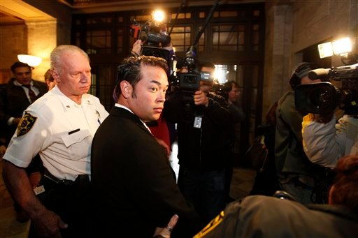 Jon Gosselin exits the Montgomery County courthouse in Norristown, Pa., Monday, Oct. 26, 2009. Gosselin says he has put $230,000 back into a joint account he shares with his estranged wife Kate as the couple continues their bitter divorce battle. Gosselin