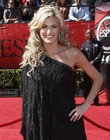 ESPN reporter Erin Andrews