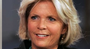 """FILE - In this Thursday Feb. 7, 2008 file photo, Meredith Baxter, of the """"Family Ties"""" television series during her appearance on the NBC """"Today"""" television show in New York. Baxter, the actress who played Elyse Keaton on the '80s TV series """"Family Ties,"""""""