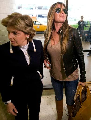 Rachel Uchitel arrives from New York at the Los Angeles International Airport in Los Angeles, Calif., on Sunday, Nov. 29, 2009.