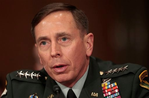 U.S. Central Command commanding Gen. David Petraeus testifies on Capitol Hill in Washington, Wednesday, Dec. 9, 2009, before the Senate Foreign Relations Committee hearing on Afghanistan. (AP Photo/Pablo Martinez Monsivais)