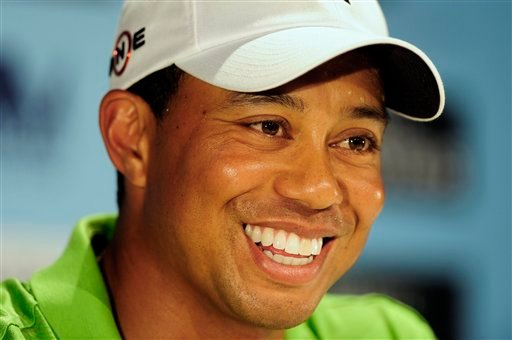 Google and Yahoo say they've seen a significant spike from traffic from people looking for information on the golf superstar and his alleged extramarital affairs. (AP Photo/Andrew Brownbill, File)