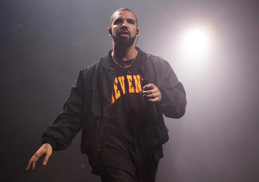 Drake performs in concert as part of the Summer Sixteen Tour in New York.