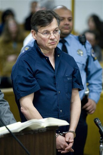 John Michael Farren, 57, of New Canaan, Conn, is arraigned in state Superior Court in Norwalk, Conn, Thursday, Jan. 7, 2010. Farren, a onetime top attorney to former President George W. Bush is accused of trying to kill his wife at their Connecticut home