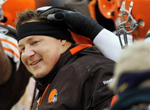 Cleveland Browns coach Eric Mangini