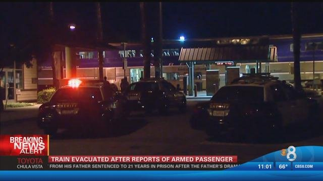 Man With A Gun Arrested For Barricading Himself Inside Amtrak Bathroom