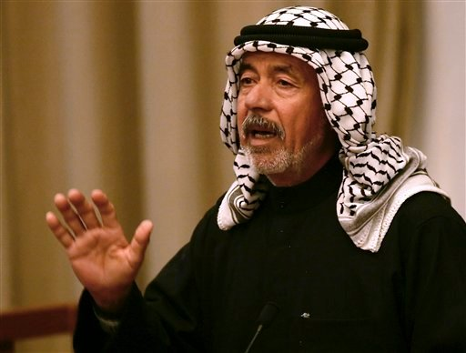 "In this Jan. 8, 2007 file photo, Saddam Hussein's cousin Ali Hassan al-Majid, known as ""Chemical Ali,"" for his alleged use of chemical weapons against Iraqi Kurds. (AP Photo/Darko Vojinovic, Pool-File)"