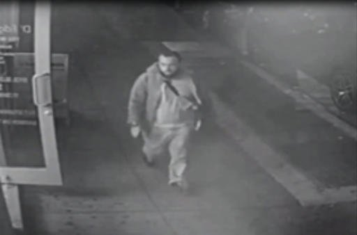 This frame from surveillance video released by the New Jersey State Police shows Ahmad Khan Rahami, wanted for questioning Monday, Sept. 19, 2016, in bombings that rocked the Chelsea neighborhood of New York and the New Jersey shore town Seaside Park over