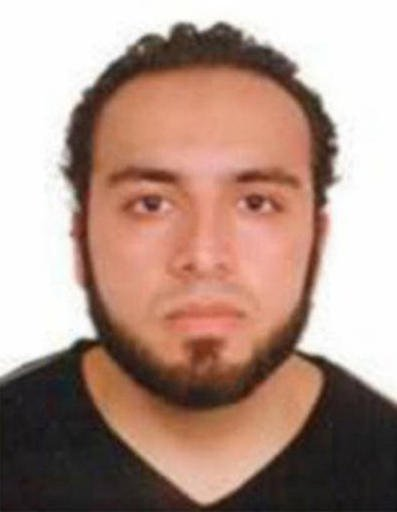 This undated photo provided by the FBI shows Ahmad Khan Rahami, wanted for questioning in the bombings that rocked a New York City neighborhood and a New Jersey shore town was taken into custody Monday, Sept. 19, 2016, after a shootout with police in New
