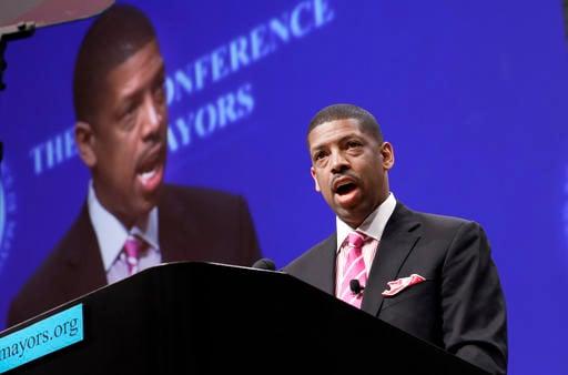 Sacramento, Calif., Mayor Kevin Johnson, president of the U.S. Conference of Mayors.