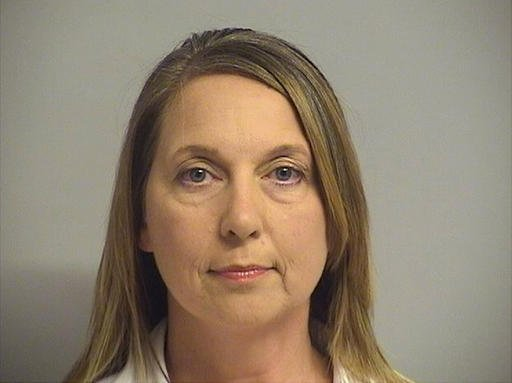 Tulsa County Inmate Information Center shows Tulsa police officer Betty Shelby.