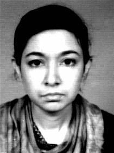 In this undated file photo originally released by the FBI, Aafia Siddiqui is shown. (AP Photo/FBI, File)