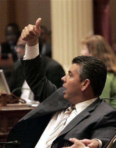 State Sen. Abel Maldonado, R-Santa Maria. (AP Photo/Rich Pedroncelli)