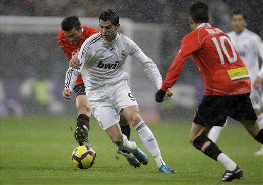 Real Madrid's Cristiano Ronaldo of Portugal. (AP Photo/Paul White)